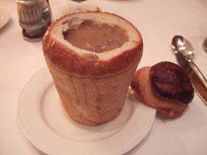 HAWELKAのキノコスープ@クラクフ,ポーランド