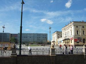 クラクフ本駅とギャレリア・クラコフスカ@クラクフ, ポーランド