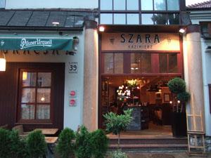 SZARAの外観@クラクフ,ポーランド