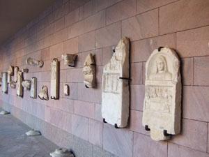 コチ大学にある出土品@イスタンブール, トルコ