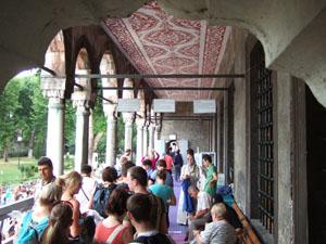 スルタンアフメット・ジャーミィ(ブルーモスク)の入口@イスタンブール, トルコ
