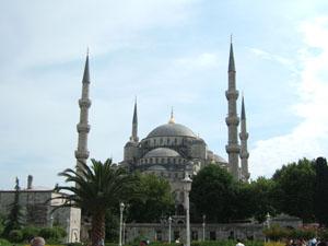 スルタンアフメット・ジャーミィ(ブルーモスク)@イスタンブール, トルコ