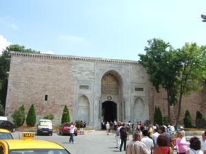 トプカプ宮殿の皇帝の門@イスタンブール, トルコ