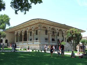 トプカプ宮殿の謁見の間@イスタンブール, トルコ