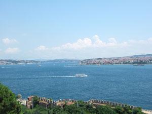 トプカプ宮殿からの眺望@イスタンブール, トルコ