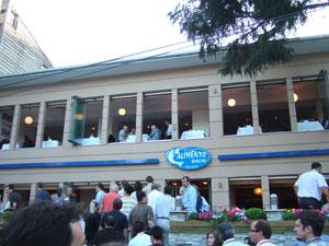ボスポラス海峡沿いのレストランALIMENTO@イスタンブール, トルコ