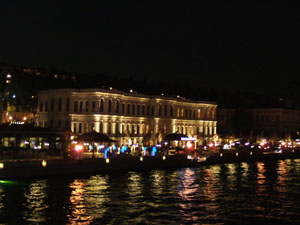 ボスポラス海峡のディナークルーズ@イスタンブール, トルコ