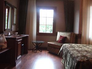 アップグレードしてもらったFerman Hotelの客室@イスタンブール, トルコ