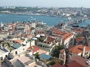 ガラタ塔からの眺望@イスタンブール, トルコ
