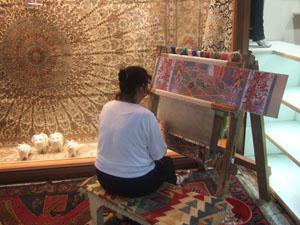 グランドバザール(カパル・チャルシュ)のトルコ絨毯屋@イスタンブール, トルコ