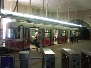 世界最短の地下鉄テュネル@イスタンブール, トルコ
