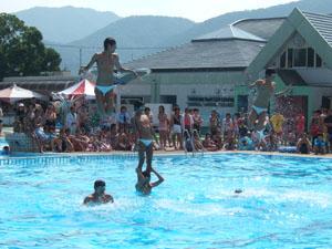 ボーイズ・シンクロナイズド・スイミング@亀岡運動公園プール