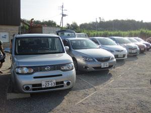 5台のレンタカー@沖縄