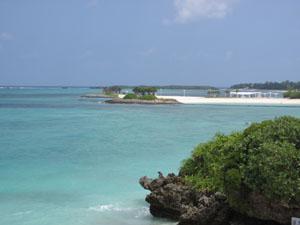 美しいエメラルドビーチ@沖縄海洋博公園