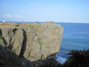 辺戸岬の断崖絶壁@国頭, 沖縄