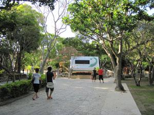 ひめゆりの塔があるひめゆり平和祈念資料館@沖縄