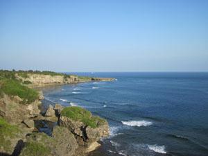 険しく美しい海岸線@喜屋武岬, 沖縄