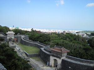 首里城の門と石段@首里, 沖縄
