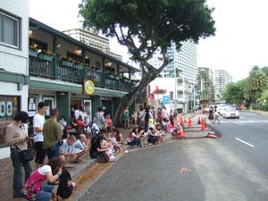 エッグスン・シングス(Eggs'n Things)の大行列@ハワイ家族旅行