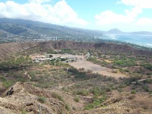 火山の噴火でできたクレーター@ハワイ家族旅行