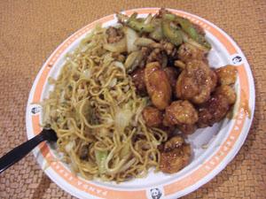 パンダエクスプレス(PANDA EXPRESS)の中華料理(US$8.37)@ハワイ家族旅行
