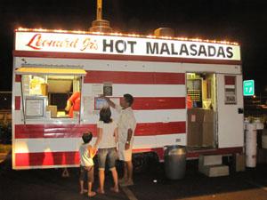 美味しいマラサダの店Leonard Jr's Hot Malasadas@ハワイ家族旅行