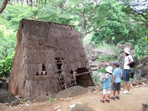 古代ハワイの家@ハワイ家族旅行