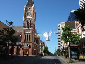 バラック・ストリート@パース,オーストラリア