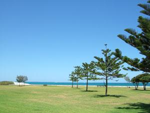ビーチ沿いの公園@フリーマントル,オーストラリア