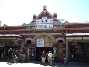 週末のみのフリーマントル・マーケット@オーストラリア