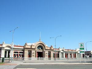 綺麗なフリーマントル駅@オーストラリア