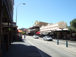 カプチーノ通り@フリーマントル,オーストラリア
