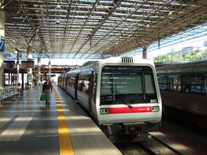 Fremantle行きの電車@パース,オーストラリア