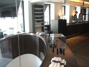 ピエール・マルコリーニ(Pierre Marcolini)の店内2階@ブリュッセル, ベルギー