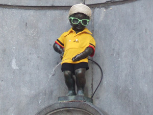 小便小僧@ブリュッセル, ベルギー