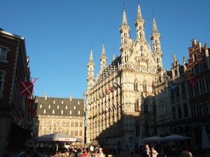 壮麗な市庁舎@ルーベン, ベルギー