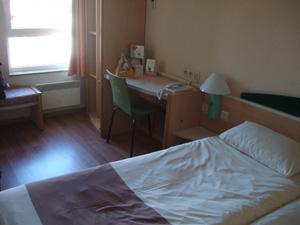 ibis hotel Leuven Centrumの客室@ルーベン, ベルギー