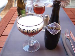 トラピストビールの最高峰ORVAL@ルーベン, ベルギー