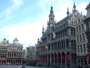 グランプラスの市立博物館@ブリュッセル, ベルギー
