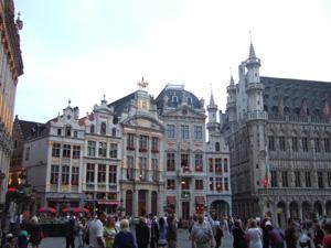 グランプラスのビール醸造博物館など@ブリュッセル, ベルギー
