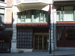 Hotel Centraleの外観@ブリュッセル, ベルギー