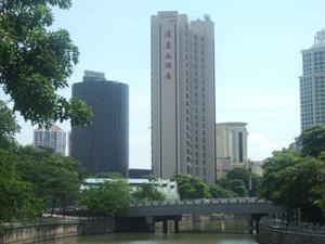 シンガポール川沿いのRiver View Hotel