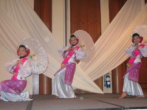 マレーシアの伝統舞踊@シンガポール