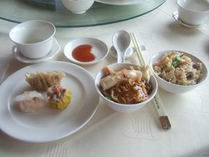 金竜●で広東料理の飲茶@台北の圓山大飯店