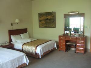圓山大飯店の麒麟客房客室@台北