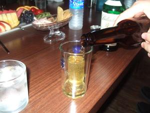 ウィスキーのビール割り@韓国ソウル