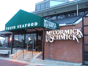 McCormick & Schmick's@バルティモア