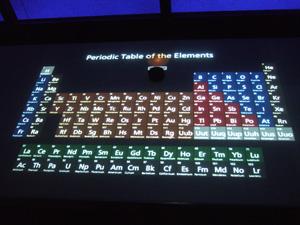 種も仕掛けもある元素の周期表@シカゴ科学産業博物館