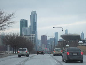 シカゴのダウンタウン