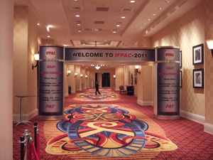 IFPAC会場@Baltimore Marriott Waterfront